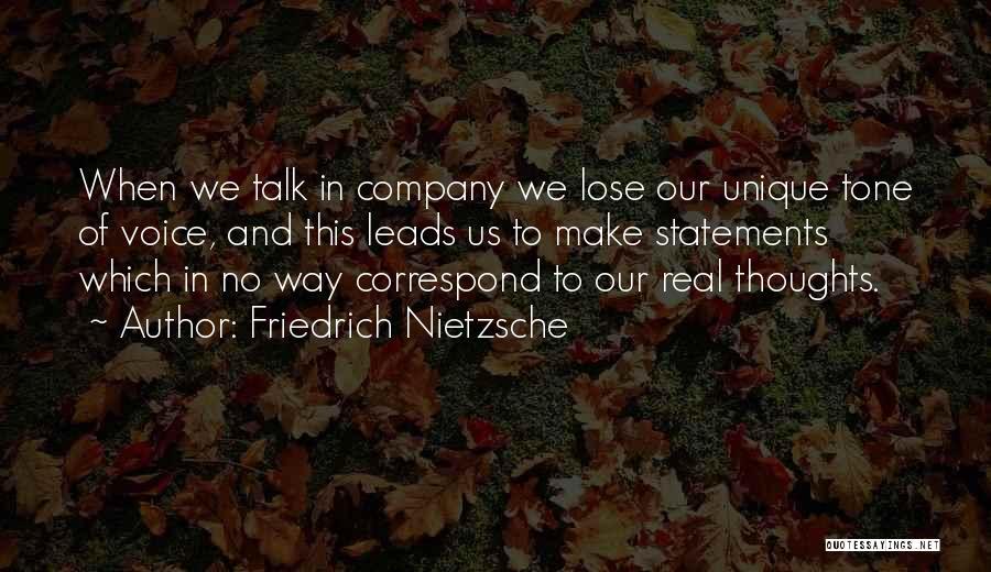 Correspond Quotes By Friedrich Nietzsche