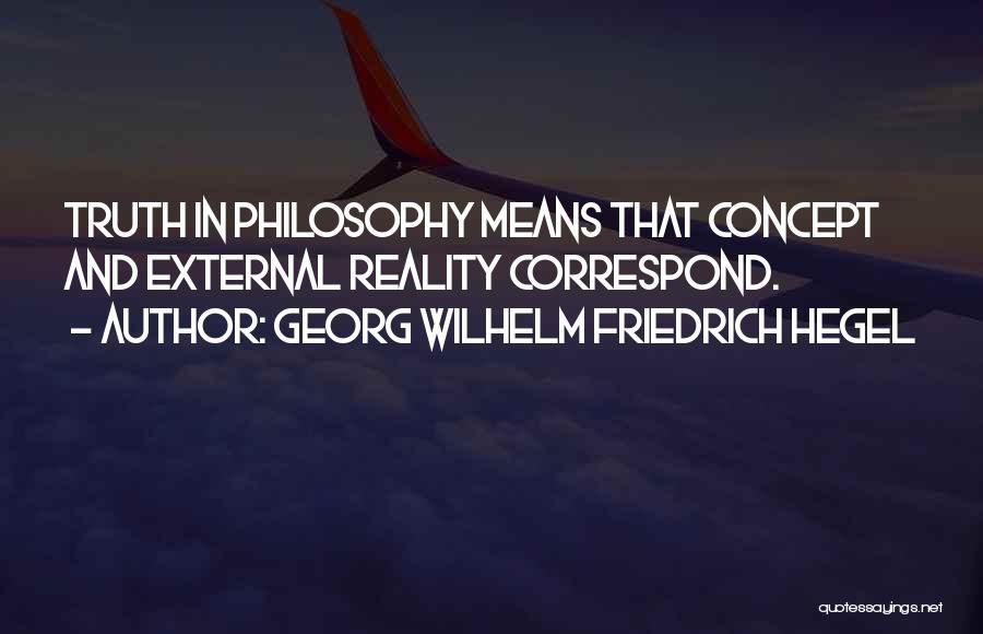 Correspond Quotes By Georg Wilhelm Friedrich Hegel