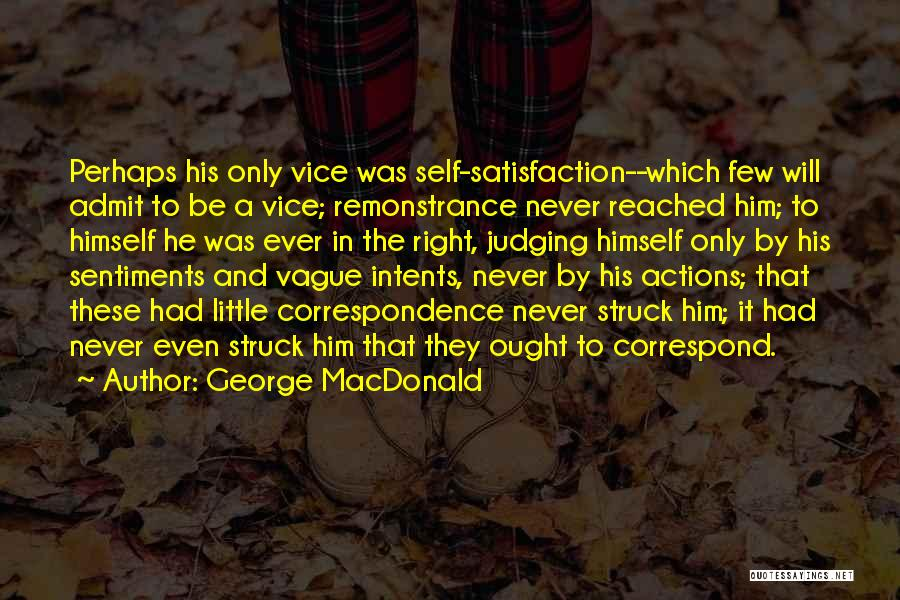 Correspond Quotes By George MacDonald