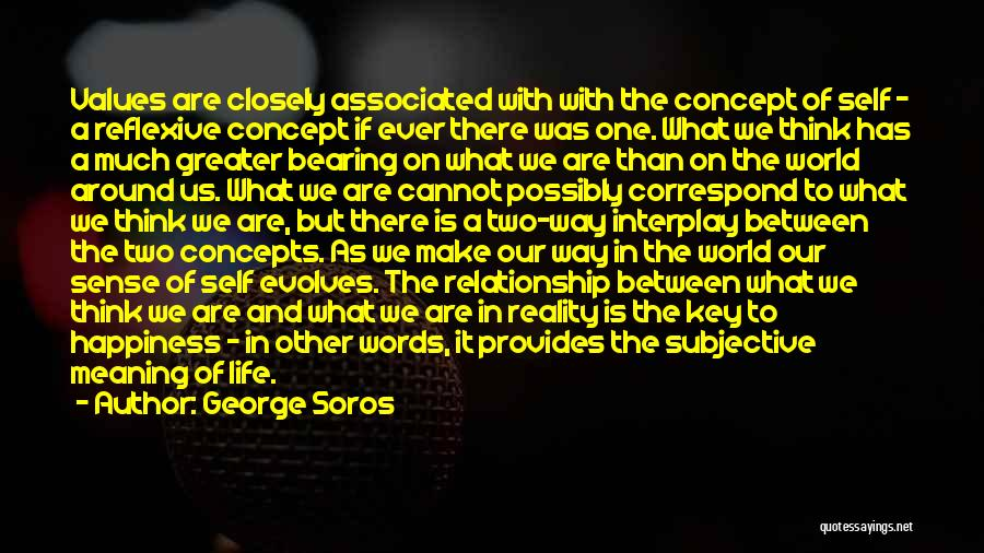 Correspond Quotes By George Soros