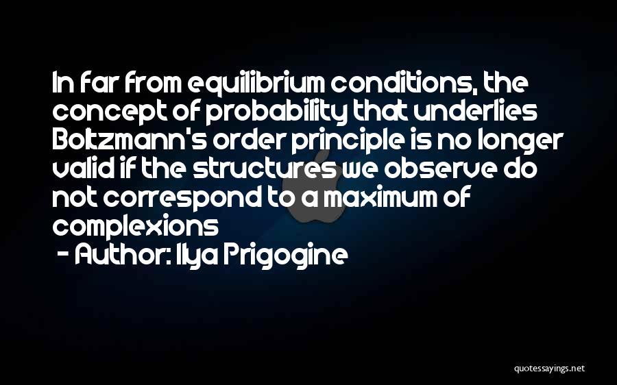 Correspond Quotes By Ilya Prigogine