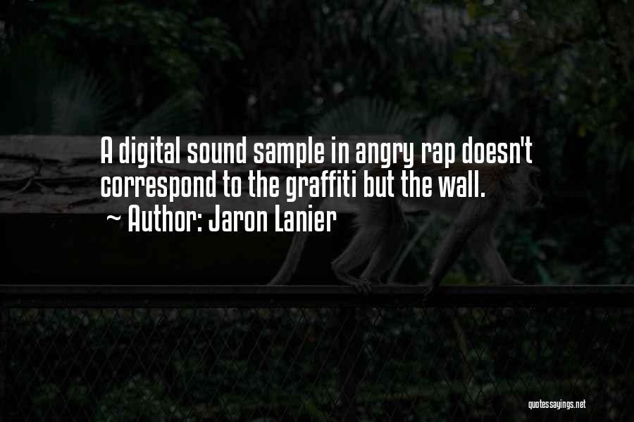 Correspond Quotes By Jaron Lanier