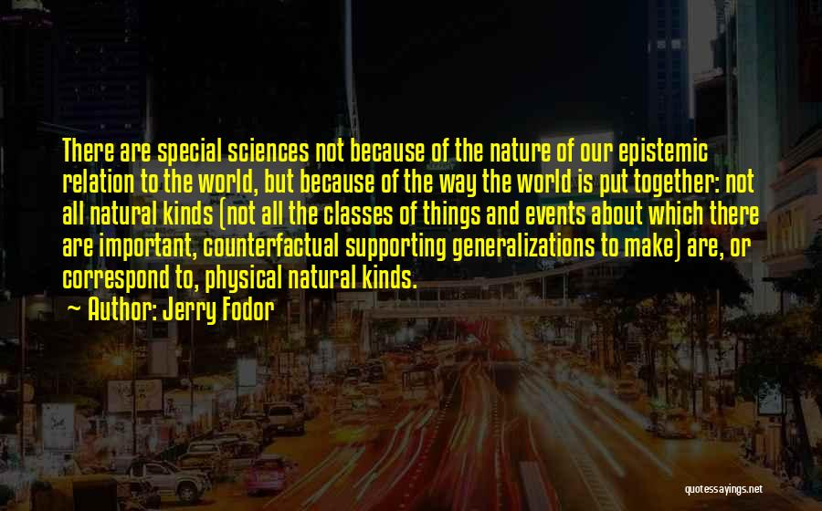 Correspond Quotes By Jerry Fodor