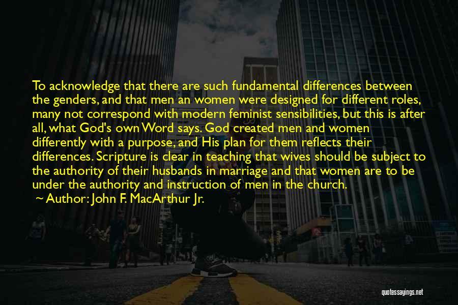 Correspond Quotes By John F. MacArthur Jr.