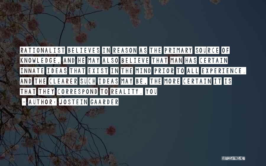 Correspond Quotes By Jostein Gaarder