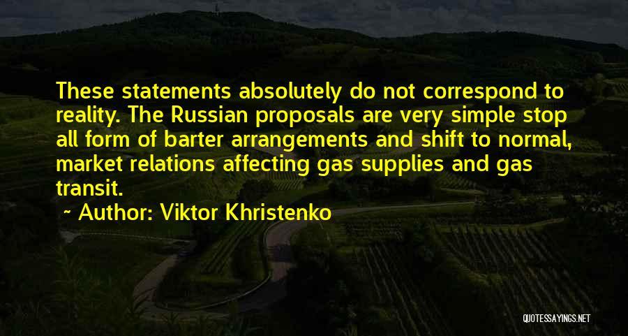 Correspond Quotes By Viktor Khristenko