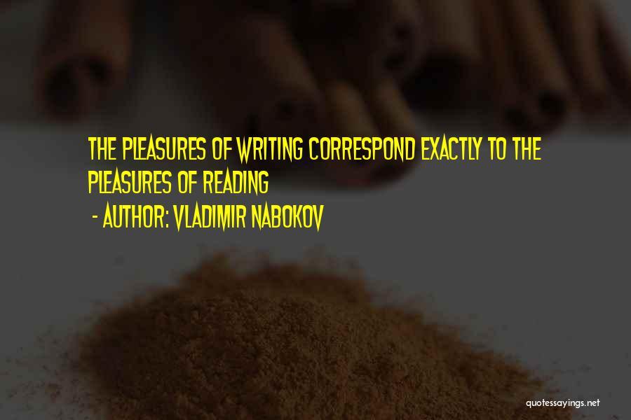 Correspond Quotes By Vladimir Nabokov