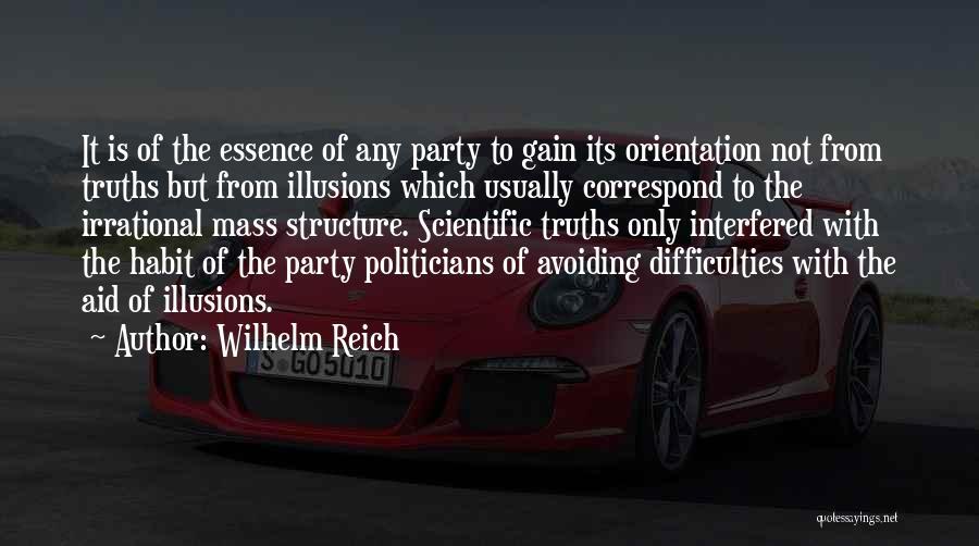 Correspond Quotes By Wilhelm Reich