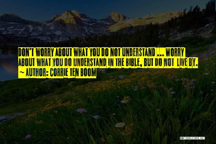 Corrie Ten Boom Quotes 1993921