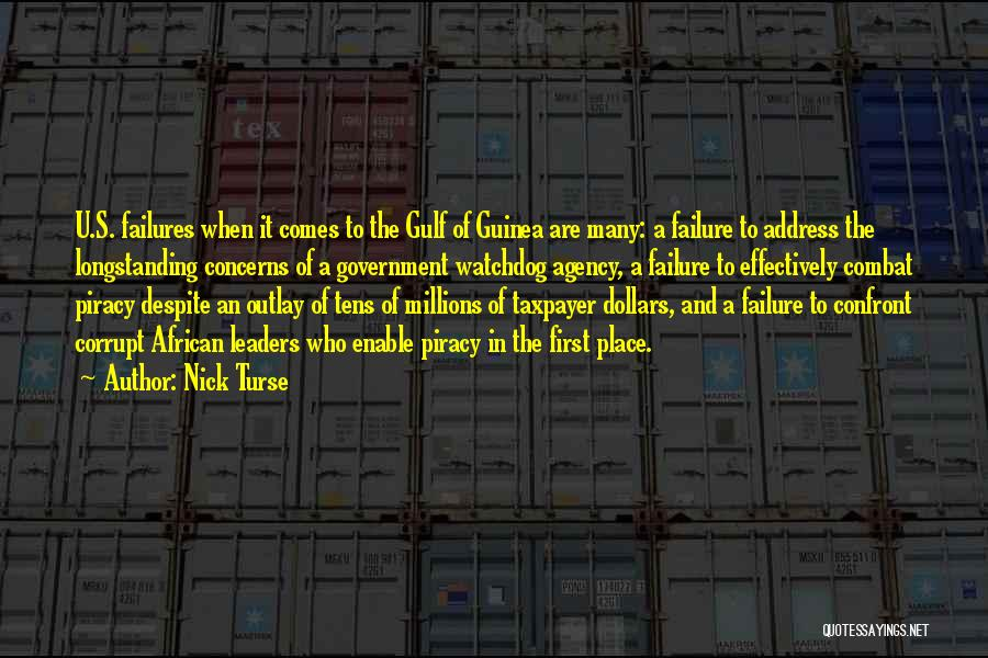 Corrupt Leaders Quotes By Nick Turse