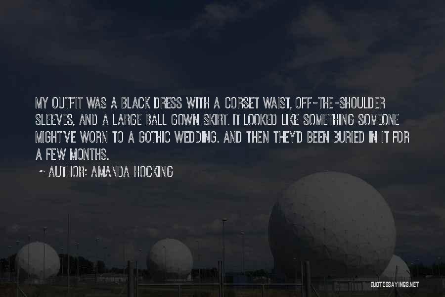 Corset Quotes By Amanda Hocking