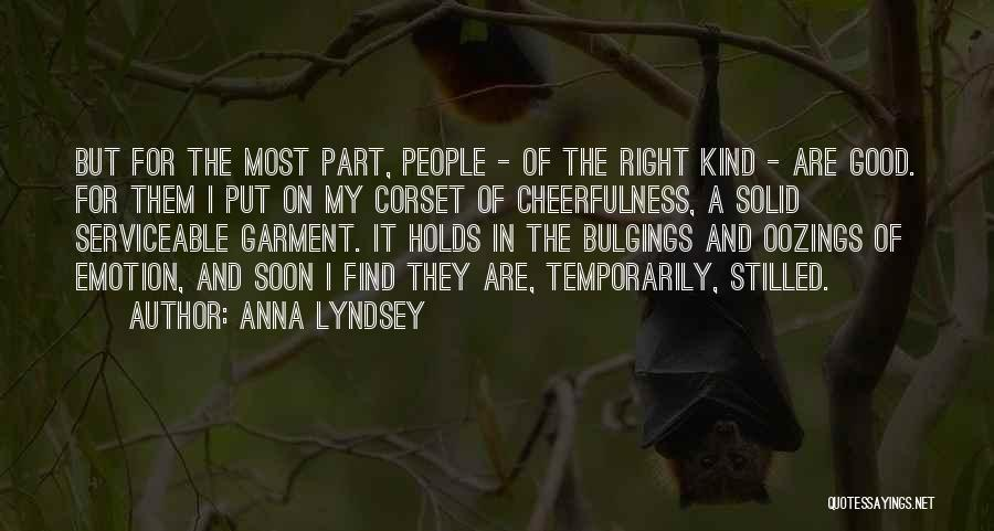 Corset Quotes By Anna Lyndsey