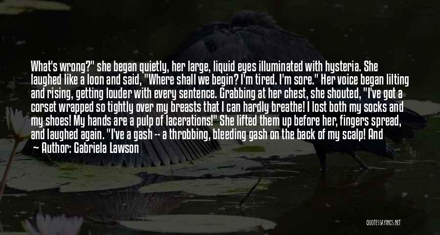 Corset Quotes By Gabriela Lawson