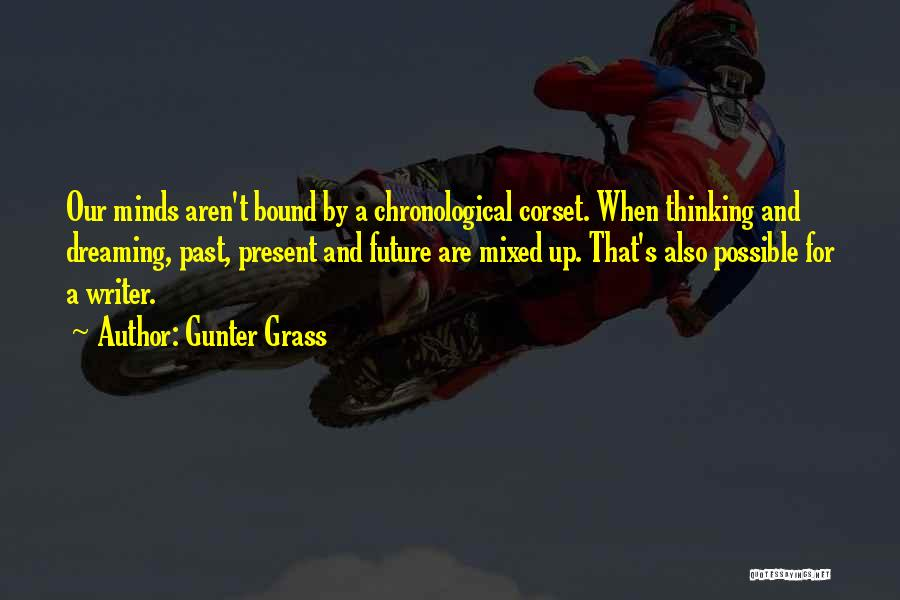Corset Quotes By Gunter Grass