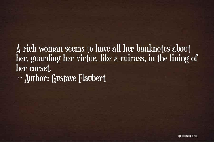 Corset Quotes By Gustave Flaubert