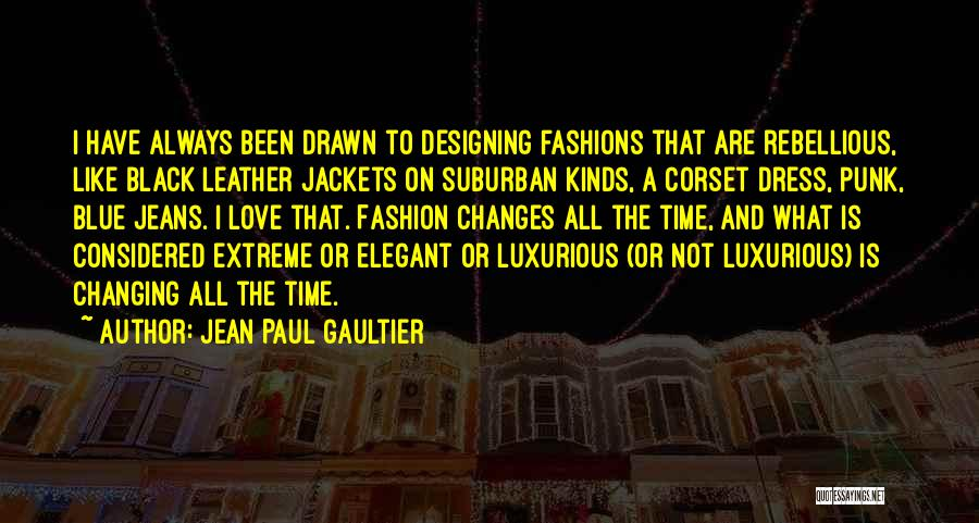 Corset Quotes By Jean Paul Gaultier