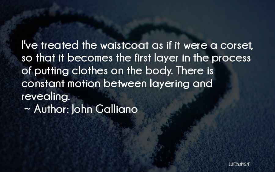 Corset Quotes By John Galliano