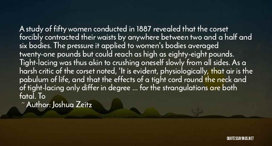 Corset Quotes By Joshua Zeitz