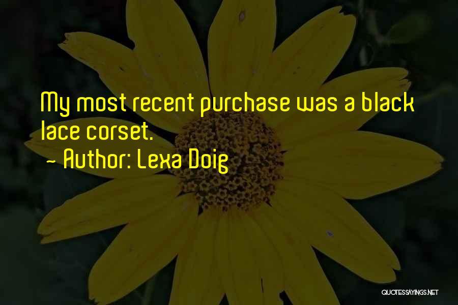 Corset Quotes By Lexa Doig