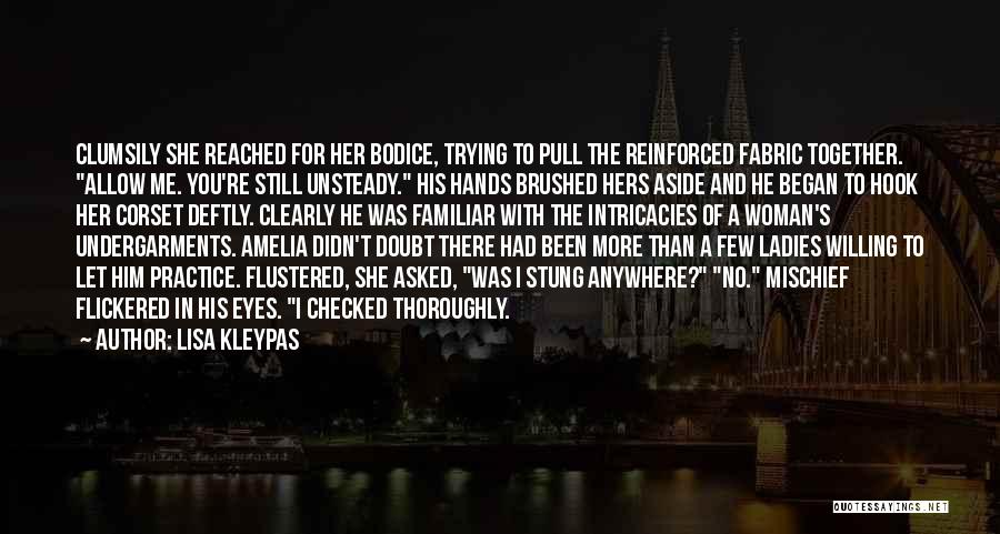 Corset Quotes By Lisa Kleypas