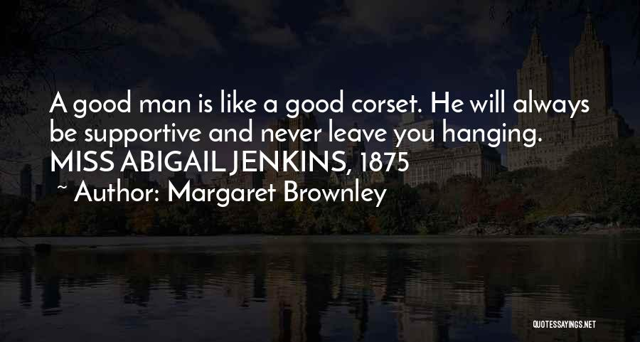 Corset Quotes By Margaret Brownley