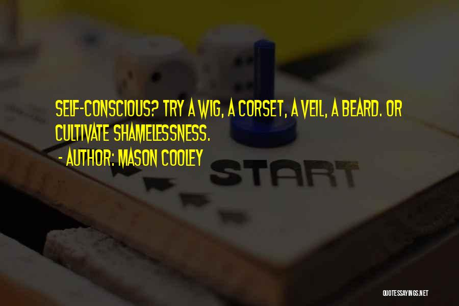 Corset Quotes By Mason Cooley