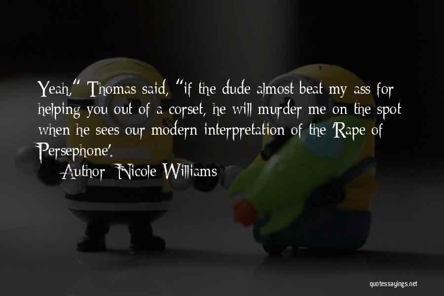 Corset Quotes By Nicole Williams