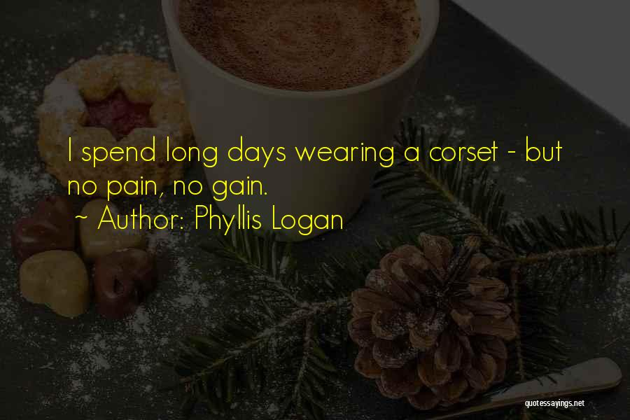 Corset Quotes By Phyllis Logan