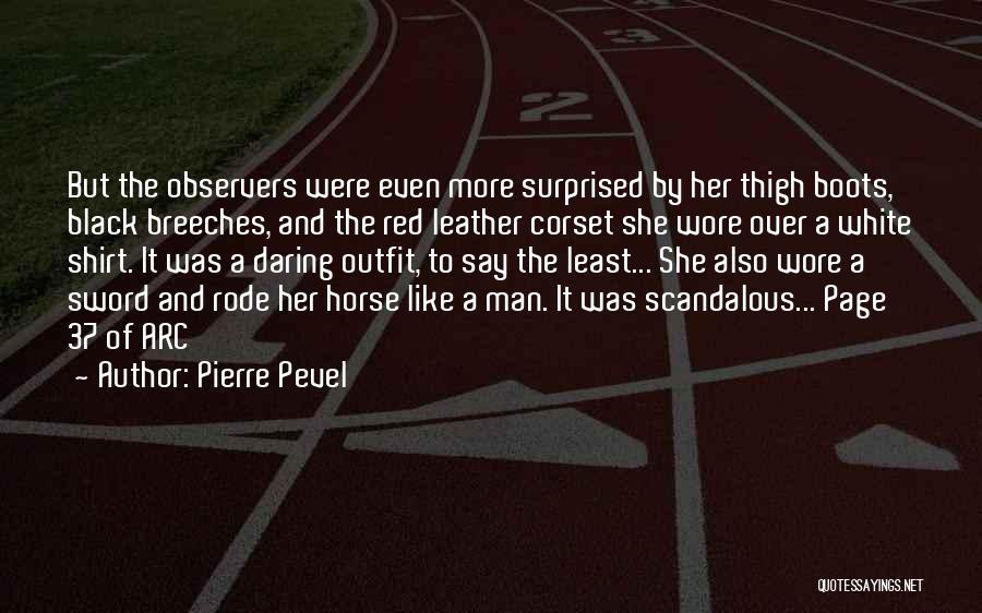 Corset Quotes By Pierre Pevel