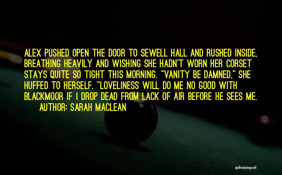 Corset Quotes By Sarah MacLean