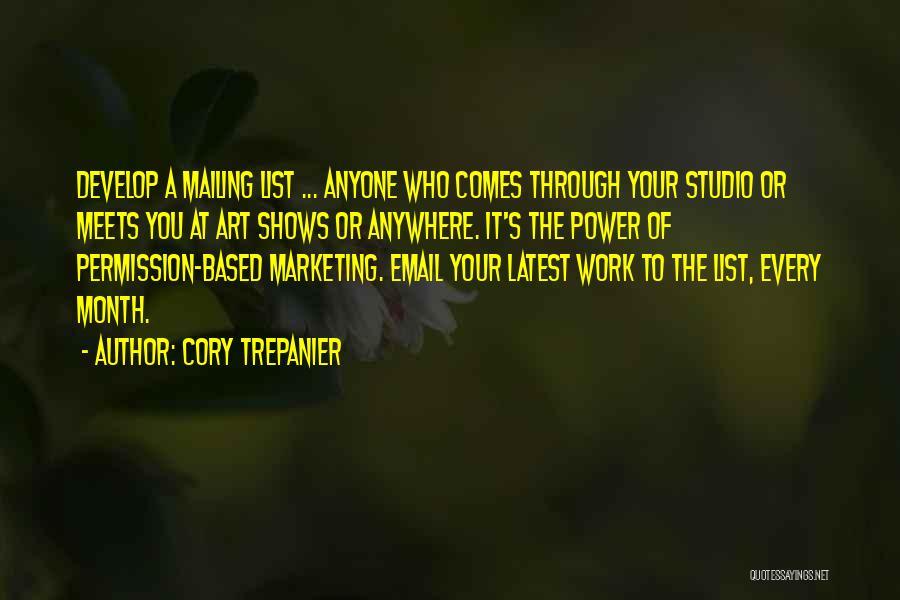 Cory Trepanier Quotes 808610