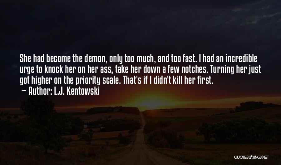 Cosgrove Quotes By L.J. Kentowski