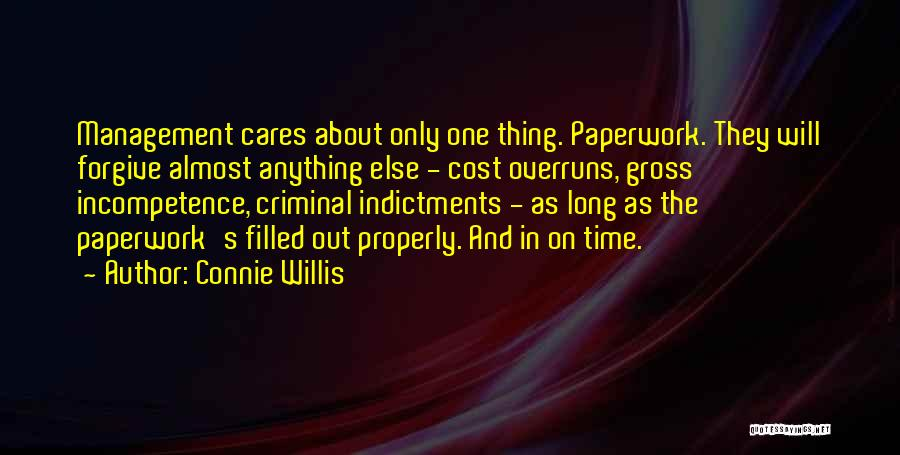 Cost Management Quotes By Connie Willis