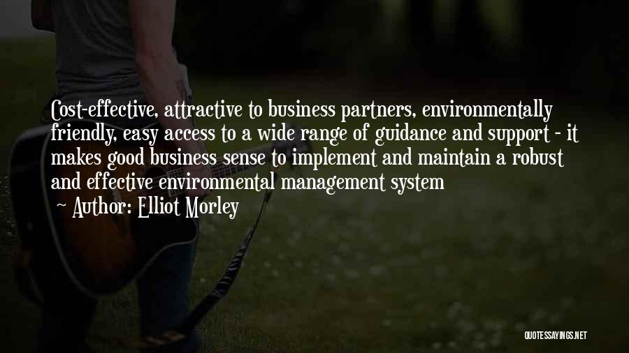 Cost Management Quotes By Elliot Morley