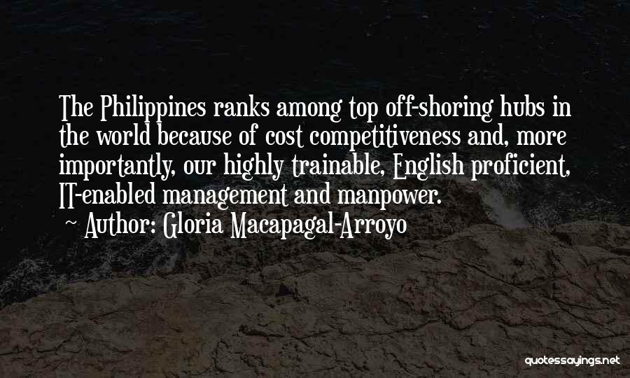 Cost Management Quotes By Gloria Macapagal-Arroyo