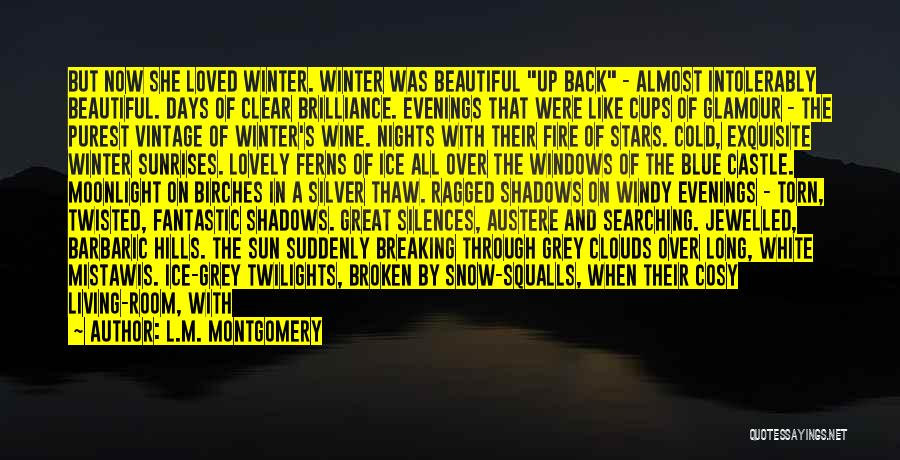 Cosy Winter Quotes By L.M. Montgomery