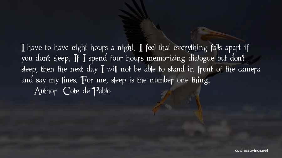 Cote De Pablo Quotes 1286608