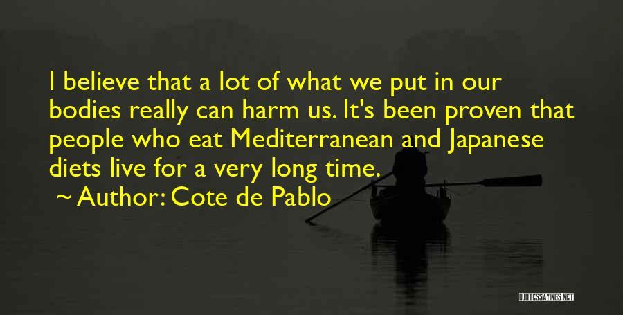 Cote De Pablo Quotes 1871845