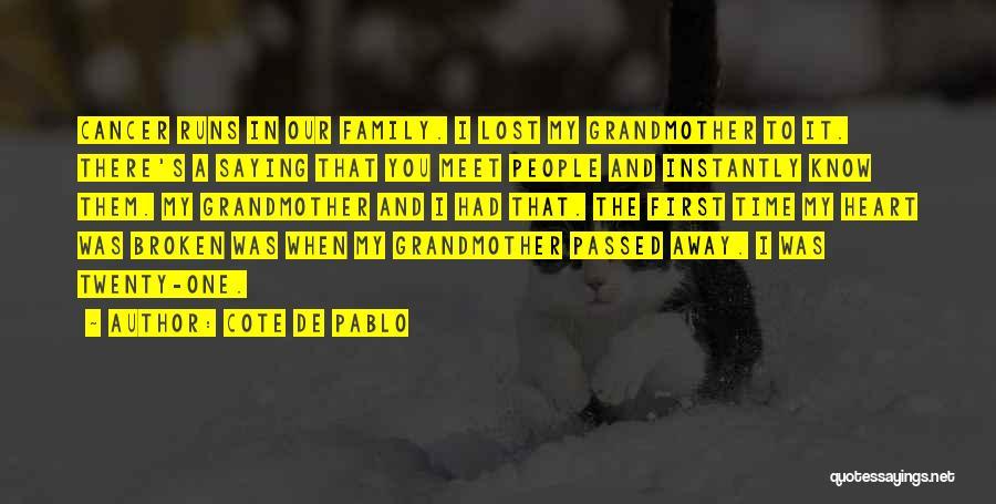Cote De Pablo Quotes 2158225