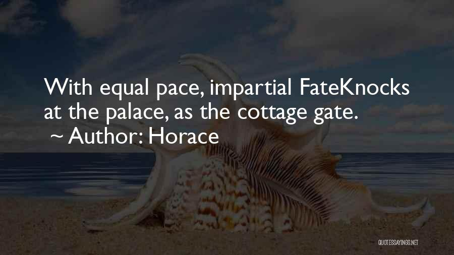 Cottage Quotes By Horace