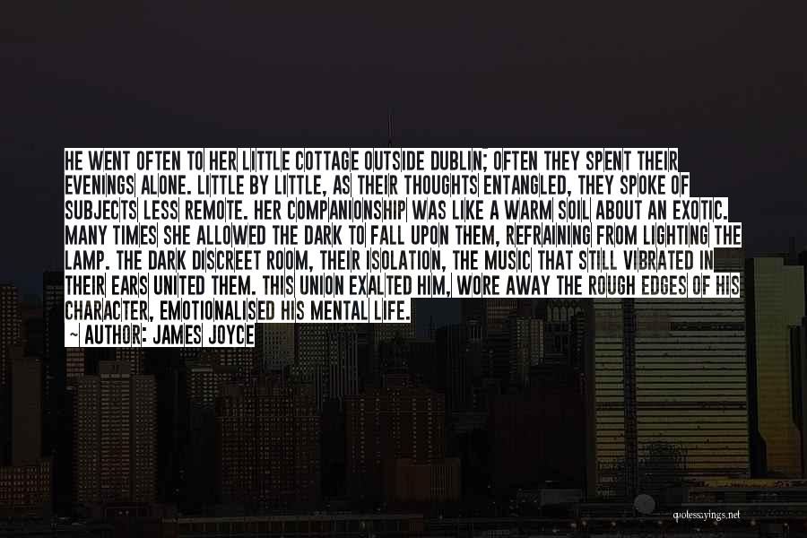 Cottage Quotes By James Joyce