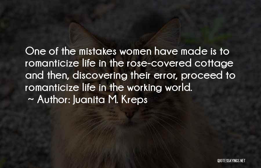 Cottage Quotes By Juanita M. Kreps