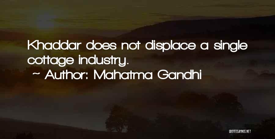 Cottage Quotes By Mahatma Gandhi
