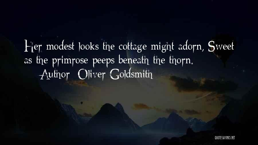 Cottage Quotes By Oliver Goldsmith
