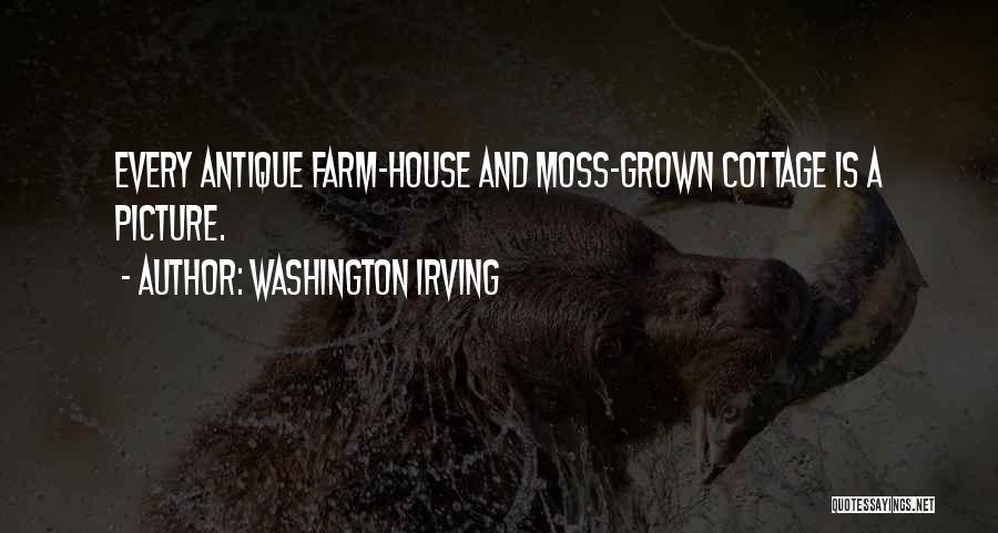 Cottage Quotes By Washington Irving