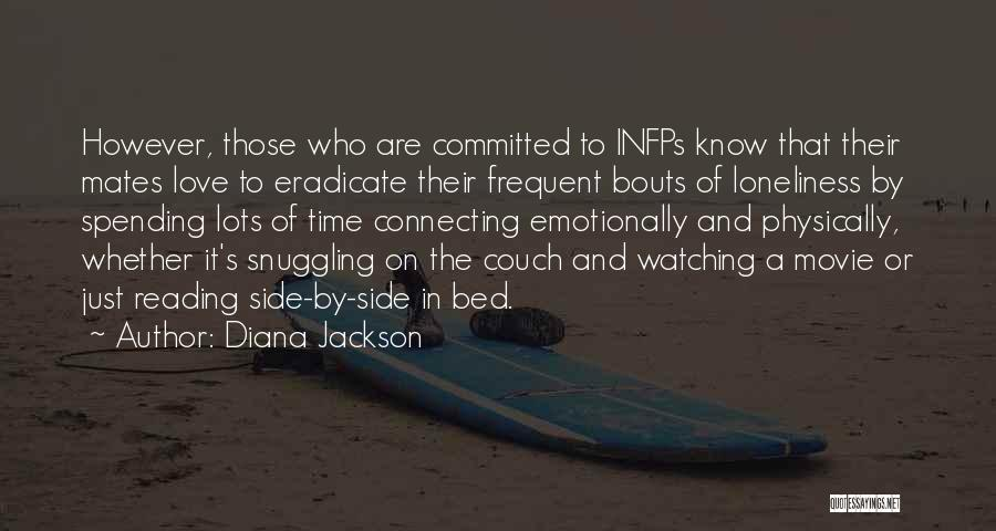 Couch Love Quotes By Diana Jackson