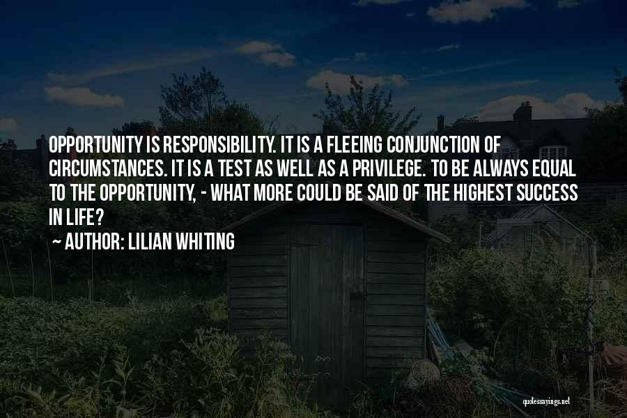Could It Be Quotes By Lilian Whiting