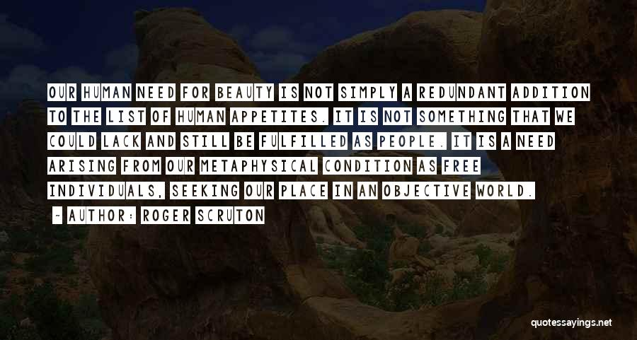 Could It Be Quotes By Roger Scruton