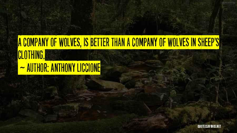 Counterfeit Quotes By Anthony Liccione