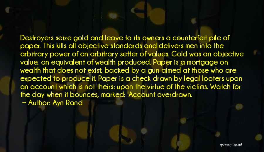 Counterfeit Quotes By Ayn Rand